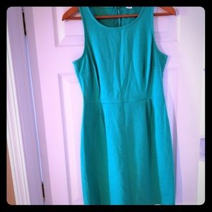 Old Navy Green Sheath Dress Size med